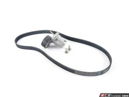 ES#3648475 - 06l903133d2KT - Accessory Belt Kit - Keep your drive belt tight with a new belt, tensioner, and hardware - Assembled By ECS - Audi Volkswagen