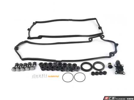 ES#3690963 - 11377527017KT - Eccentric Shaft Sensor Kit - Includes a new sensor as well as valve cover and eccentric gaskets for a complete service - Assembled By ECS - BMW