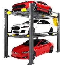 ES#4000806 - HD937P - BendPak Parking Lift Tri Level Parking - Great 4 Post Lift that will hold 3 cars - BendPak -