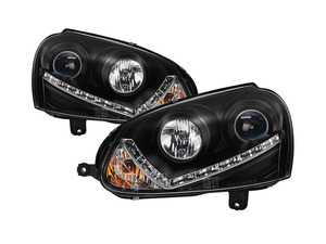 Xenon Projector Headlight Set - Black