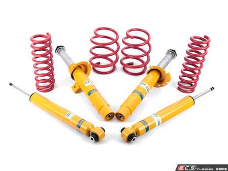 ES#3659088 - 28891-2kt - Performance Suspension Cup Kit - Sport - Featuring Bilstein B8 shocks and H&R sport lowering springs - Assembled By ECS - BMW