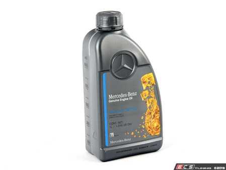 ES#3534599 - 000989790211BIFU - 5W-40 Full-Synthetic Engine Oil - Priced Each - One (1) Liter Bottle - Genuine Mercedes Benz - Mercedes Benz