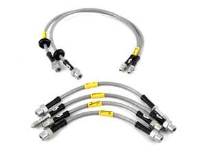 ES#3980152 - 31053 - G-Stop Stainless Steel Brake Line Kit - Front & Rear - Set of DOT-compliant lines for an improved pedal feel - Goodridge - BMW
