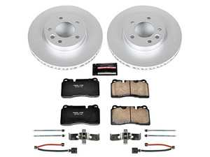 Stoptech 938.66032 Street Axle Pack Drilled /& Slotted Front