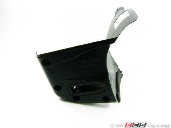 ES#128292 - 51712694832 -  Front lower Fender Liner - Right - Lower part of the front fender linder, featuring the air duct for brake cooling - Genuine BMW - BMW
