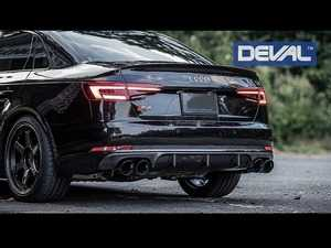 ES#4000981 - D38234 - Carbon Fiber Rear Diffuser - Designed and manufactured to improve performance and everyday drivability - Deval - Audi