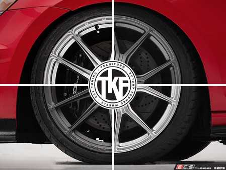 """ES#4001042 - TKF-19-57.1-WT - 19"""" Tekniform Wheel & Tire Package - 235/35/19 Tires - Let ECS do the heavy lifting with our tire mounting and balancing service! - Assembled By ECS - Audi Volkswagen"""