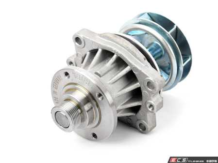 ES#10753 - 11517527910 - New Water Pump - With O-Ring - High quality German-made pump featuring a metal impeller - Geba - BMW