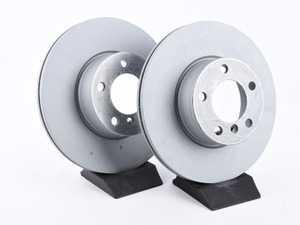ES#4001035 - 34116792219SD - BRAKE DISC Pair - *Scratch And Dent* - Zimmermann - BMW