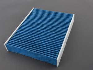 ES#3991505 - 99157362300BF - Blue.care Cabin Air Filter - Five layers of protection against pollen, fine dust, mold & spores, odors, and bacteria - Hengst - Porsche