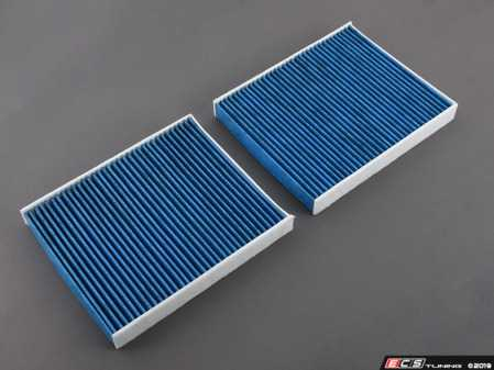 ES#3991491 - 64119272642BF - Bluecare Cabin Filter - Pair - State of the art cabin filters that utilize a Biofunctional layer to protect you and your family from airborne bacteria, viruses, mold, and spores. - Hengst - BMW