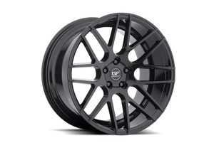 "ES#4001150 - gf0718905KT1 - 18"" GF7 Wheels - Set Of Four - 18""x9"" ET25 5x112 - Gloss Black Finish - MRR Design - Audi Volkswagen"