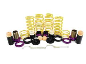 """ES#3427370 - 253100BM - KW H.A.S. - Height Adjustable Spring Kit - Retains the use of your factory shocks while providing the ability to adjust ride height from 0.6"""" to 1.6"""" Front 1.0"""" to 1.8"""" Rear - KW Suspension - Audi"""