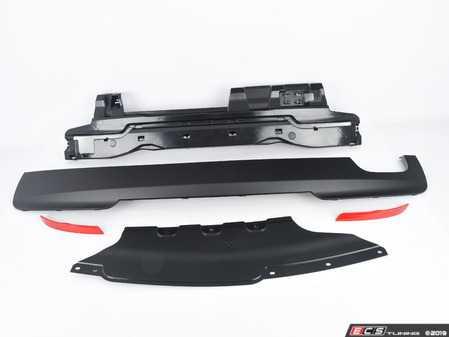 ES#3674379 - F10MTECHRR3PDC - M Technic Style Rear Bumper - with PDC  - Quad exhaust rear M tech style bumper - ECS - BMW