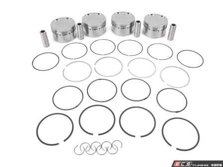 ES#4000992 - JE-PVA-2 - JE Forged 2.0L Stroker Piston Set - 9.5:1 CR  - Takes 1.8L 06A engine to 2.0L (2008cc), by increasing the stroke and bore of the engine - JE Piston - Audi Volkswagen