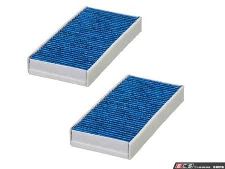 ES#4004068 - 64119321875BF - Bluecare Cabin Filter Active Carbon Set E3950LB-2 - State of the art cabin filters that utilize a Biofunctional layer to protect you and your family from airborne bacteria, viruses, mold, and spores. - Hengst - BMW MINI
