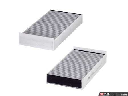 ES#3676729 - 64119321875C - Cabin Filter Active Carbon Set E3950LC-2 - Cleans the air in your MINI/BMW HVAC - Hengst - MINI