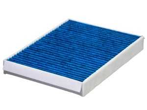"""ES#4004117 - 1668300018 - Hengst Blue.Care Cabin Filter / Fresh Air Filter - Hengst's """"Blue.Care"""" Technology cabin filters consist of 5 layers of protection to catch particles down to .0003mm! - Hengst - Mercedes Benz"""