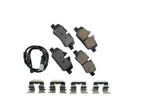ES#4004361 - EUR1800 - Rear Euro Ceramic Brake Pad Set EUR1800 - Restore the stopping power in your MINI, comes with rear brake sensor - Akebono - MINI