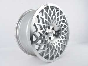 """ES#4004348 - MT85.1R18sd - 18"""" MT10 - Priced Each - Right - *Scratch And Dent* - 18""""X8.5"""" ET35, CB74.1mm 5x100 - Silver With Machined Face - WatercooledIND - Audi Volkswagen"""