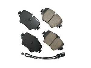 ES#4004364 - EUR1892 - Front Euro Ceramic Brake Pad Set EUR1892 - Restore the stopping power in your MINI, comes with front brake sensor - Akebono - MINI