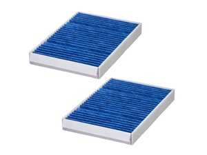 "ES#4004393 - 2228300318BC - Hengst Blue.Care Cabin Filter / Fresh Air Filter - Hengst's ""Blue.Care"" Technology cabin filters consist of 5 layers of protection to catch particles down to .0003mm! - Hengst - Mercedes Benz"
