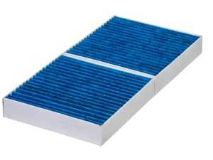 """ES#3676833 - A1718300418 - Hengst Blue.Care Cabin Filter / Fresh Air Filter - Hengst's """"Blue.Care"""" Technology cabin filters consist of 5 layers of protection to catch particles down to .0003mm! - Hengst - Mercedes Benz"""