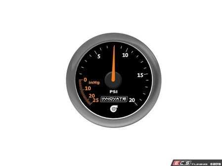 ES#4004447 - inn3857 - MTX-A: 20 PSI Vacuum / Boost Gauge - 52mm gauge offering superior needle holding force and high performance 270 Stepper Motor - Innovate Motorsports - Audi BMW Volkswagen