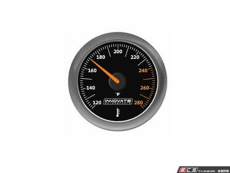ES#4004450 - inn3861 - MTX-A: Water / Oil (Fluid) Temperature Gauge - 52mm fluid temp gauge 52mm featuring superior needle holding force and high performance 270 Stepper Motorfuel ratio technology - 120-280 F range - Innovate Motorsports - Audi BMW Volkswagen