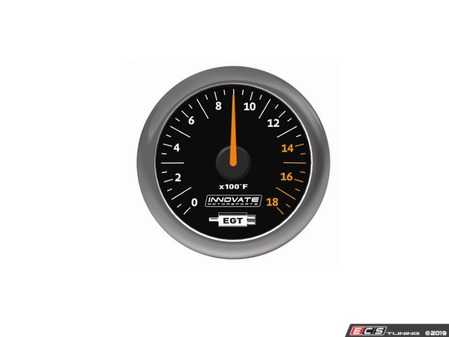 ES#4004451 - inn3865 - MTX-A: Exhaust Gas Temperature (EGT) Gauge - 52mm gauge measures exhaust gas temp 32 - 1800 F - featuring superior needle holding force and high performance 270 Stepper Motor! - Innovate Motorsports - Audi BMW Volkswagen
