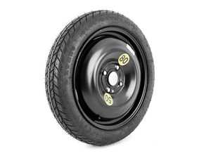 "ES#3970699 - 3611150916411570 - 15"" Emergency Spare Wheel/Tire Set - Includes Genuine MINI 15x3.5"" ET35 steel wheel with mounted and balanced Kumho 115/70/15 tire. - Assembled By ECS - MINI"