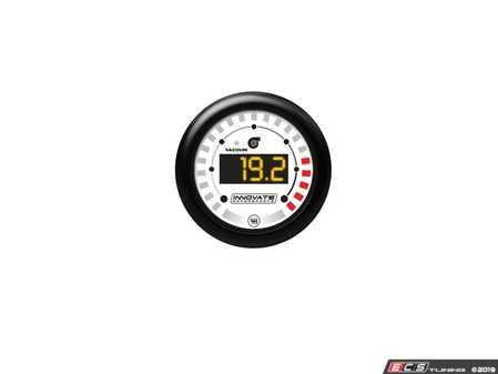 ES#4004470 - inn3851 - MTX-D: Vacuum / Boost & Shift Light - 52mm MTX digital boost gauge and shift light combo - One Gauge - Two Functions! - Innovate Motorsports - Audi BMW Volkswagen