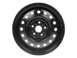 "ES#4004478 - 939-116KT - 16"" Steel Wheel - Set Of Four - 16""x6.5"" ET50 5x112 - Rally Black - Dorman - Audi Volkswagen"