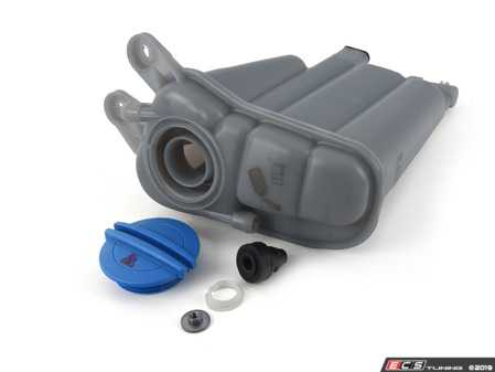 ES#3658445 - 3b0121321ktKT2 - Coolant Expansion Tank Replacement Kit - Everything you need to replace your faded, cracked, or leaky expansion tank! - Assembled By ECS - Audi