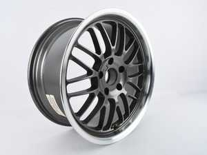 ES#3675246 - ZZ060.000735 - D-Force EmPower Mesh Wheel - Anthracite/Polished lip * Scratch and Dent*  - 18x8.5 (19.3 lb.). Two wheels available. - D-Force Wheels - BMW