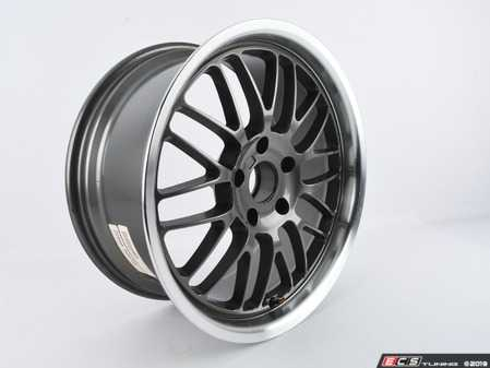 ES#3675246 - ZZ060.000735 - D-Force EmPower Mesh Wheel - Anthracite/Polished lip * Scratch and Dent*  - (NO LONGER AVAILABLE) - 18x8.5 (19.3 lb.). ET30 Two wheels available. - D-Force Wheels -