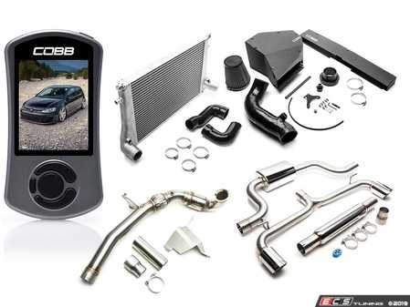 ES#4004693 - VLK0025130 - COBB MK7 GTI Stage 3 Power Package - Unleash the most out of your GTI with this Stage 3 power pack from COBB! - CobbTuning - Volkswagen