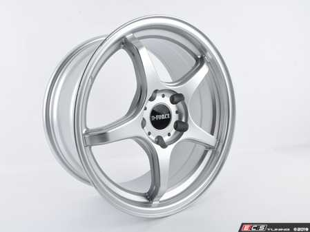 ES#3674129 - C3600056 - D-Force LTW5 Wheel - Silver *Scratch and Dent*  - - 17x8.5 (16.2 lb.) - - D-Force Wheels - BMW
