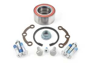 ES#2702897 - 2029800116 - Rear Wheel Bearing Kit - Priced Each - Includes wheel bearing, flange, snap ring and axle nut - Ruville - Mercedes Benz