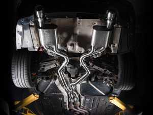 ES#4004766 - 003378tmsktKT1 - Turner Motorsport Valved Axle Back Exhaust - Valved Axle back exhaust to keep your factory secondary cats! For E90 & E92 N54 cars. - Turner Motorsport - BMW