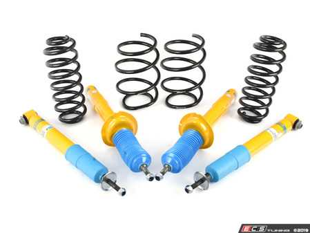 ES#2983725 - 46-180872 - B12 Pro-Kit Suspension System - Expertly matched performance Eibach Pro-line lowering springs and Bilstein shock/strut package for a dramatic increase in performance handling. World-famous Bilstein quality with a limited lifetime warranty! - Bilstein - BMW