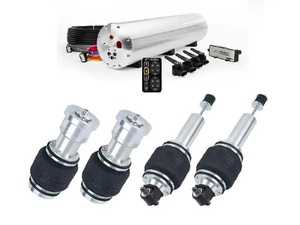 "ES#4004820 - W126PDK1 - Build Your Own W126 Air Suspension Kit - 3/8"" Lines / AccuAir ENDO-CVT - Customize your Suspension set up with AccuAir's latest ENDO-CVT Tank/Compressor Combo - Dolud - Mercedes Benz"
