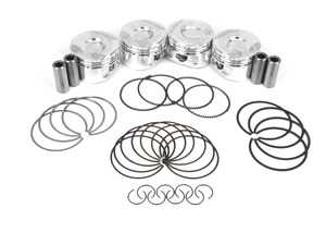 ES#3639945 - SC7515 - CP Forged Piston & Ring Set (Set Of 4) - 77mm (standard Size) CR(10.5) - Performance pistons in standard size - Carillo - MINI
