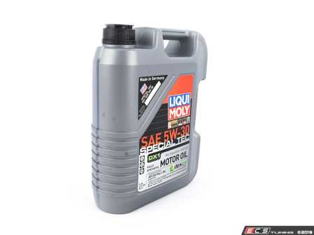 ES#4001220 - 20318 - Special Tec DX1 SAE 5W-30 - 5 Liter - Specially developed for the requirements of GM vehicles with gasoline engines - GM dexos1™ Gen 2 Approval - Liqui-Moly -