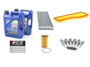ES#4005012 - 99630KMAINTKT1 - 99-01 3.4L 996 30K Major Maintenance Kit - Featuring Porsche A40 Spec Approved Liqui-Moly Synthoil Energy 0w-40, OE Manufacturer Hengst Oil / Cabin Filter / Air Filter, and NGK BKR6EKUB Spark Plugs - Assembled By ECS - Porsche
