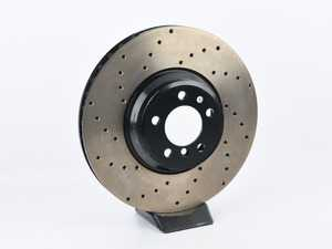 ES#4001285 - 128.34102RSD - StopTech Rotor - *Scratch And Dent* - This design removes performance robbing outgas and material dust caused by braking - StopTech - BMW