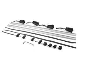 ES#3981110 - 3CN071151B - Roof Rack Base Bars - Base mounts for mounting other carrier assemblies. Manufactured by Thule for Volkswagen - Genuine Volkswagen Audi - Volkswagen