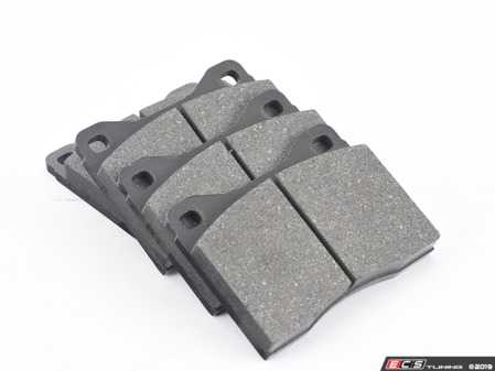 ES#3639525 - 34111159257 - Front Brake Pad Set - A set of four front brake pads - ATE - BMW