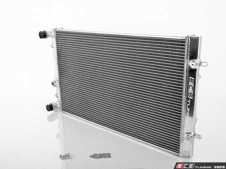 ES#4001222 - 018163ecs01KT -  MK4 Performance Aluminum Radiator  - Direct-fit upgrade! Featuring a 26% increase in cooling system capacity along with a durable, all aluminum construction - ECS - Audi Volkswagen