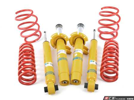 ES#3659085 - 50482KT1 - Performance Suspension Cup Kit - Sport - Featuring Bilstein B8 shocks and H&R sport lowering springs - Assembled By ECS - BMW